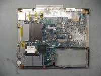 Toshiba Portege A100. Removing system board.