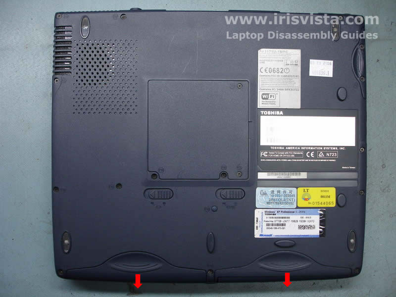 toshiba satellite 1200 disassembly guide rh irisvista com irisvista disassembly guides for toshiba's User Guide