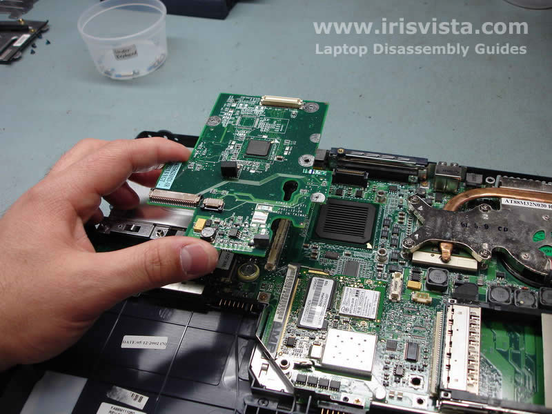Toshiba Satellite 1200 Disassembly Guide