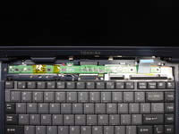 Toshiba Satellite 1200. LED board.
