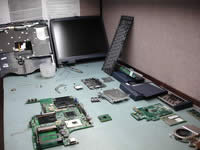 Toshiba Satellite 1200. How to take apart.