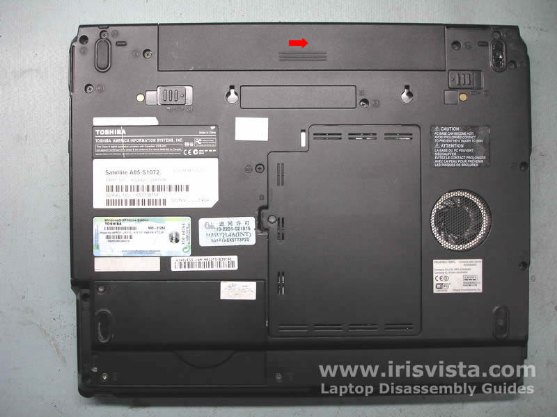 toshiba satellite a85 a80 disassembly guide rh irisvista com irisvista disassembly guides for toshiba's irisvista disassembly guides for toshiba's