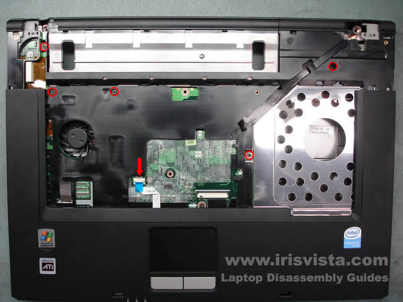 Toshiba Satellite L35 L30 disassembly guide