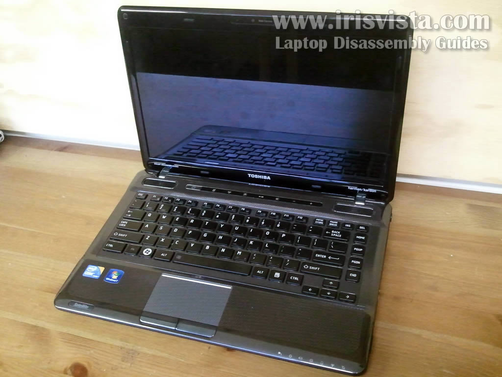 Toshiba Satellite M645 M645D M640 M640D disassembly