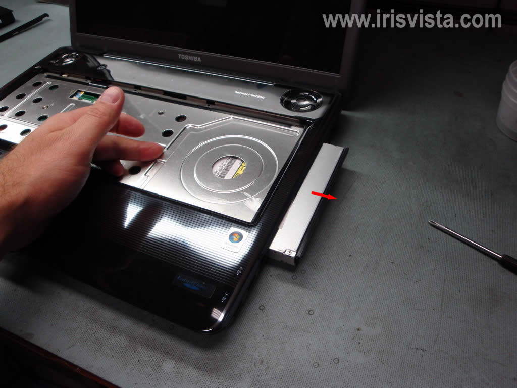 how to remove hard drive satellite c50-b
