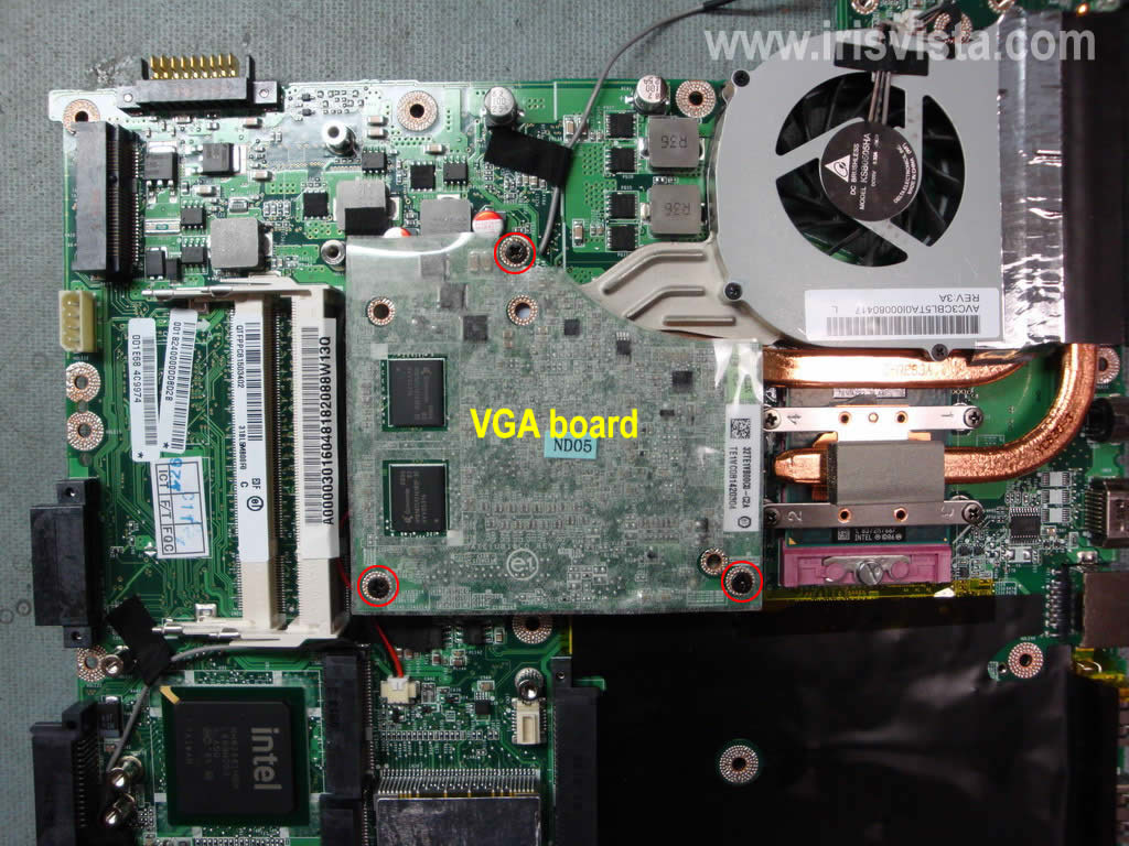 Toshiba Satellite P305 P300 Disassembly Guide