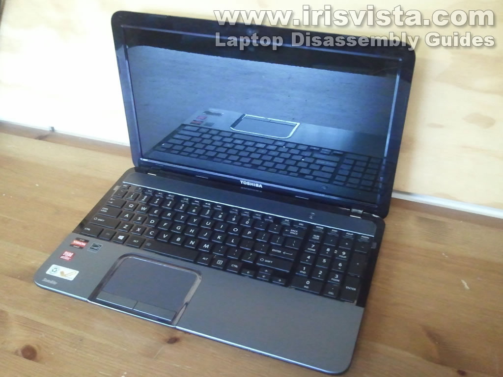 Toshiba Satellite S855 S855D S850 S850D disassembly