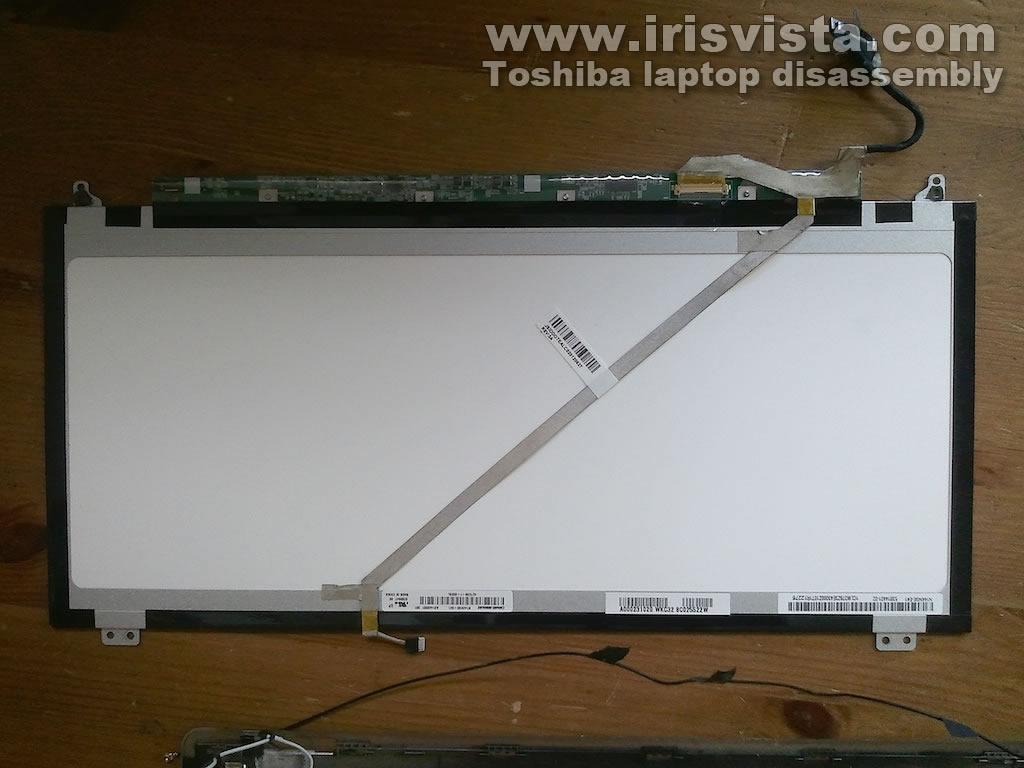 Display Hinge Repair On Toshiba Satellite U845w U840w