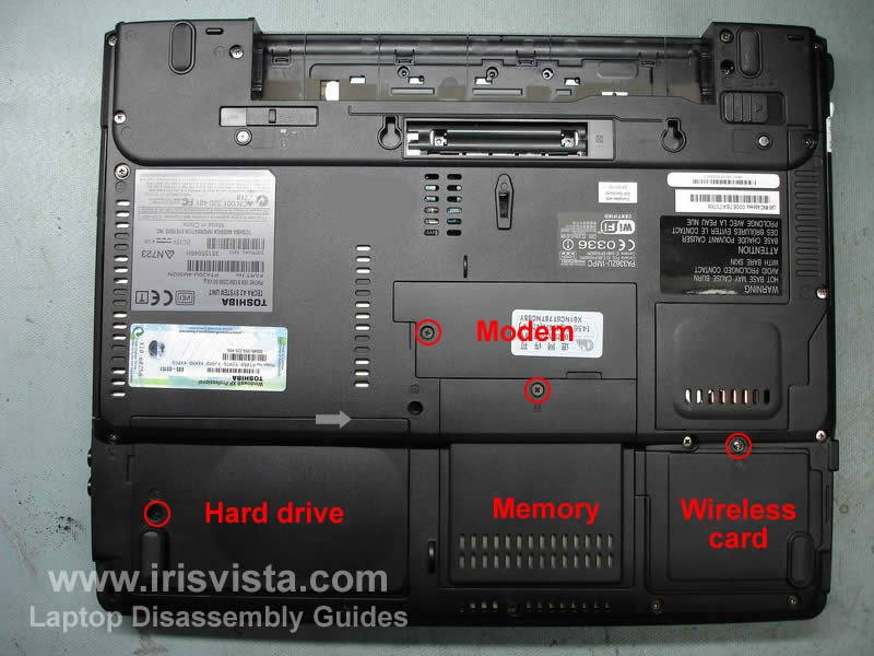 toshiba tecra a2 satellite a55 disassembly guide rh irisvista com toshiba satellite c855 disassembly guide toshiba satellite a30 disassembly guide