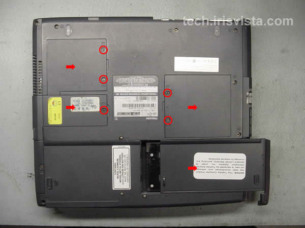 Toshiba satellite l510 service manual & repair guide download man.