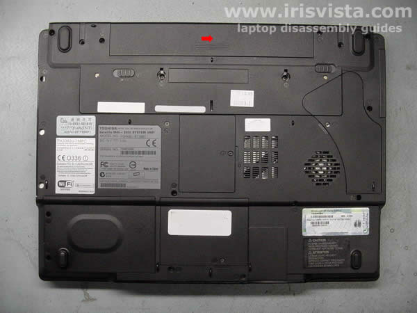 Toshiba Satellite M45 M40 Tecra A4 disassembly guide