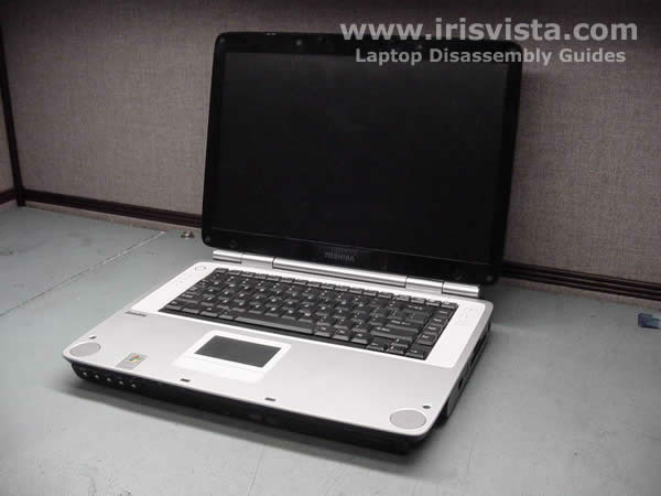 Toshiba Satellite P15 laptop disassembly