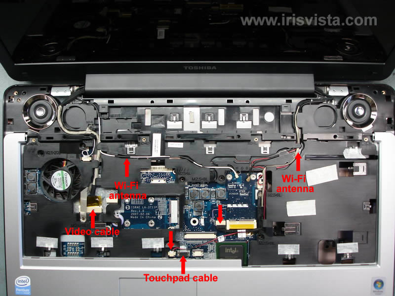 toshiba satellite p205 p200 disassembly guide rh irisvista com Toshiba Satellite User Manual toshiba satellite pro p200 service manual